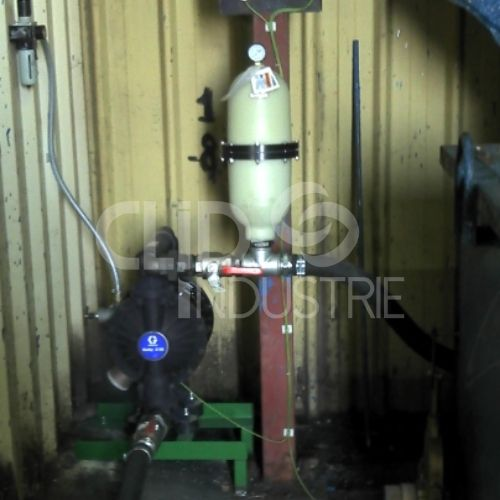 pompe 2150 & anti pulsatoire Husky 2000 Graco